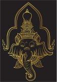 Son of Siva vector illustrator. Thai son of Siva vector illustrator Stock Image