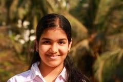 Son sourire innocent lumineux Images libres de droits