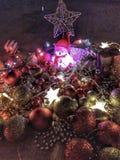 Son temps de Noël la période la plus merveilleuse de l'année images libres de droits