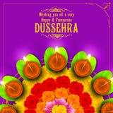 Sona patta for wishing Happy Dussehra Royalty Free Stock Photos