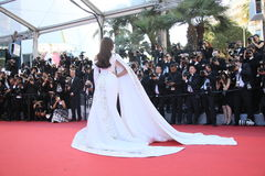 Sonam Kapoor. Attends the screening of 'From The Land Of The Moon (Mal De Pierres)' at the annual 69th Cannes Film Festival at Palais des Festivals on May 15 royalty free stock photography