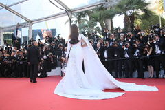 Sonam Kapoor. Attends the screening of 'From The Land Of The Moon (Mal De Pierres)' at the annual 69th Cannes Film Festival at Palais des Festivals on May 15 stock photos
