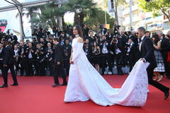 Sonam Kapoor. Attends the screening of 'From The Land Of The Moon (Mal De Pierres)' at the annual 69th Cannes Film Festival at Palais des Festivals on May 15 royalty free stock images
