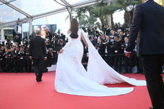 Sonam Kapoor. Attends the screening of 'From The Land Of The Moon (Mal De Pierres)' at the annual 69th Cannes Film Festival at Palais des Festivals on May 15 royalty free stock image