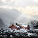 Sonamarg, Cachemire, Inde Image libre de droits