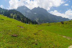 Sonamarg landscape in summer, Sonamarg, Srinagar, India. Travel Asia Royalty Free Stock Photo