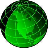 Sonar Globe Stock Photography