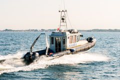 Sonar 4. Hydrographic sub-unit of the Maritime Office in Gdynia Royalty Free Stock Photo