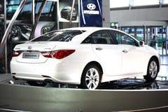 Sonata 2011 Hyundai Foto de Stock