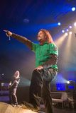 Sonata Arctica band perform on Budapest Stock Images