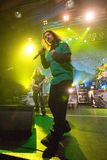 Sonata Arctica band perform on Budapest Stock Image