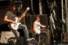 Sonata Arctica at Masters of Rock 2015 Royalty Free Stock Images
