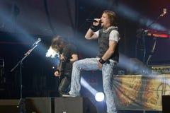 Sonata Arctica on Metalfest 2013 Stock Photography