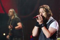 Sonata Arctica on Metalfest 2013 Stock Photos