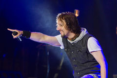 Sonata Arctica on Metalfest 2013 Stock Images