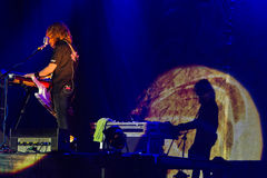 Sonate Arctica auf Metalfest 2013 Lizenzfreie Stockfotos