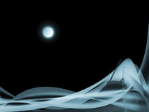 Sonate de clair de lune Photo libre de droits