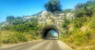 SonBou tunnel Royaltyfri Fotografi