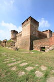 Soncino castle. Medieval castle of Soncino near Milan, Italy Stock Photo