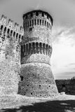 The Soncino Castle. Shoot of the Soncino Castle during daylight Royalty Free Stock Images