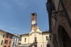 Soncino (Cremona) Lizenzfreies Stockbild