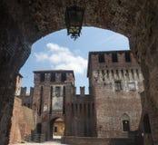 Soncino (Cremona, Italien) Stockfotos