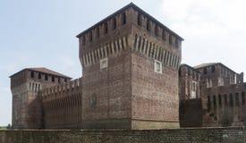 Soncino (Cremona, Italien) Stockfotografie