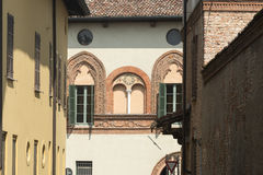 Soncino (Cremona, Italy) Royalty Free Stock Images
