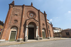 Soncino (Cremona, Italy) Stock Photography