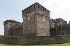 Soncino Cremona, Włochy (,) Zdjęcia Royalty Free