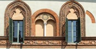 Soncino Cremona, Włochy (,) Zdjęcie Royalty Free