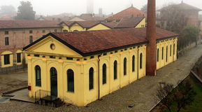 Free Soncino, Italy. The Spinning Mill House Meroni Royalty Free Stock Image - 64034836