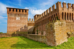 Soncino's castle Royalty Free Stock Images