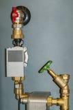 Sonde de température de l'eau Photo libre de droits