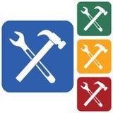 Sondear el icono del símbolo del trabajo Fotografía de archivo libre de regalías