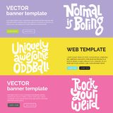 Sonderbar und schön Kalligraphieinspirationsgrafikdesign-Typografieelement vektor abbildung