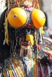 Sonderbare Insektenmaske am Karneval von Venedig Lizenzfreies Stockfoto
