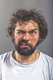 Sonderbarer und verrückter Kerl Lizenzfreie Stockfotos
