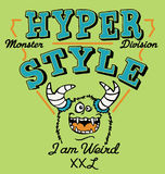 Sonderbares Monster der Hyper Art Lizenzfreie Stockbilder