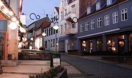 Sonderborg sydliga Danmark Royaltyfri Bild