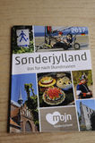 SONDERJYLLAND CATALOGUE IN GERMANY LANGUAGE. Copenhagen_Denmark _05.May 2017_Sonderjylland catalogue in German langauge for German tourist to visit Sonderjyland Stock Image