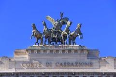 Sonderkommando des Obersten Gerichts der Aufhebung in Rom in Italien lizenzfreies stockbild