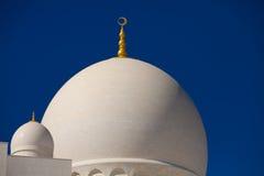 Sonderkommando des Scheichs Zayed Mosque in Abu Dhabi Stockbilder