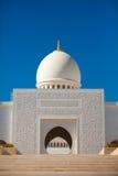 Sonderkommando des Scheichs Zayed Mosque in Abu Dhabi Lizenzfreie Stockfotografie