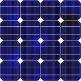 Sonderkommando des Sonnenkollektors lizenzfreie stockfotos