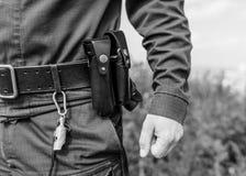 Sonderkommando eines Polizeibeamten lizenzfreie stockfotos