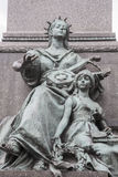 Sonderkommando von Adam Mickiewicz Monument (1898) durch Rygier in Krakau Lizenzfreies Stockbild
