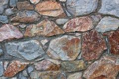 Sonderkommando von einer Steinzaunwand Stockbilder