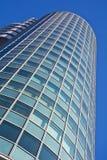 Sonderkommandofassade eines Bürohauses Stockbild