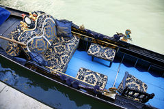 Sonderkommandogondel Venedig Stockbild